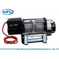 China 15000lbs 4*4 Series Electric Winch Hoist Electric Power Source CE Certification wholesale