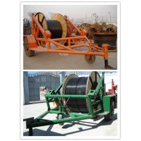 China pictures cable trailer,cable drum table, new type Cable Conductor Drum Carrier wholesale
