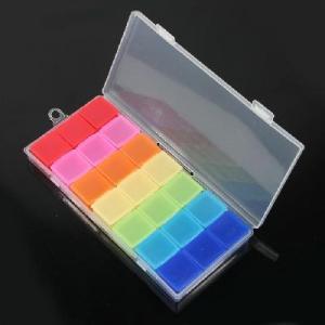 China New Plastic Seven Days Pill Box Medicine Storage Case wholesale