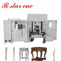 China Brand new CNC wood turning milling lathe center for furniture legs wholesale