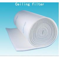 China 600G EU5 Cloth / Mesh Paint Booth Roof Ceiling Filter With Full Adhesive wholesale
