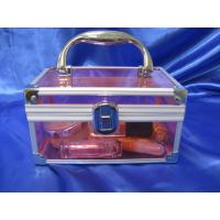 China 3 Mm Acrylic Storage Boxes , Perspex Makeup Suitcase Customized wholesale