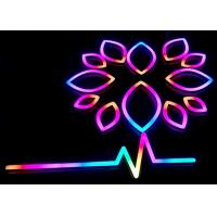 Buy cheap Illuminated LED Neon Signs / Store Neon Signs With RGB Changeable Colors from wholesalers