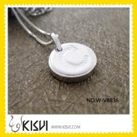 Quality Elegant & unique fashion design 925 silver jewellery round pendant W-VB836 for sale