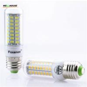 China Upgrade Design E27 SMD5730 72Leds Corn light No Flicker led Bulb Lamp AC220V 230V 240V LED Spotlight candle Light on sale