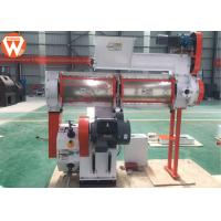 Quality 1-2TPH Yield Feed Pellet Machine For Poultry Farm 2mm 4mm Screw 12-120rpm for sale