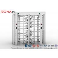 Quality Full Height Turnstile Access Control Turnstile Dual Passage With CE Approved for sale