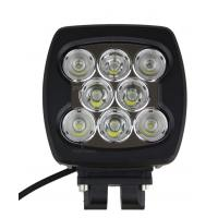 China 80W SQUARE / COMBO LED Automotive Work Lights 6000K For Offroad Lighting 4 X 4 ATV on sale