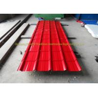 China Sound Insulation Corrugated Metal Roofing Colour Coated Steel Roofing Sheets wholesale