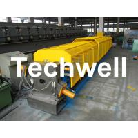 """China 3"""" * 3"""" Squared Rainwater Downpipe Roll Forming Machine For Water Pipe, Rain Gutter wholesale"""