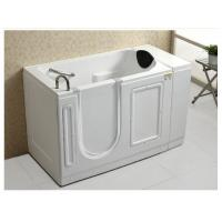 China Acrylic White Walk In Bath And Shower / Jacuzzi Walk In Tub Size 1290*765*1015mm wholesale