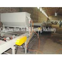 China Cold Roll Forming Type Metal Stud Roll Forming Machine 8-10m / Min wholesale