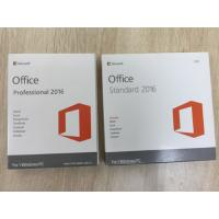 China Microsoft Office Home and students 2016 English 32/64 BIT For Windows PC wholesale