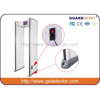 China Bank Airport Security Machines 6 Zones With Sound And LED Alarm , Police Metal Detectors wholesale