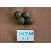 China B2 D50mm High Hardness 62-63HRC Grinding Balls For Mining , Mine Steel Ball for Cement Mill wholesale