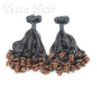 China Professional 100% Peruvian Aunty Funmi Human Hair / Double Drawn Remy Hair Extensions wholesale