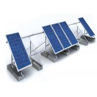 China 1.4KN/M2 Solar Panel Roof Mounting Systems Customized Color Aluminum Stainless Steel Structure wholesale