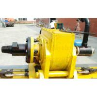 China Slope Reinforcement Portable Anchor Drilling Rig with Stepless Shift Hydraulic Drive AK100 wholesale