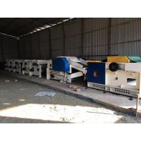 China Hard Waste Recycling line, suitable for hard waste, soft waste, waste fabric, demin, rags, recycling and regenerating wholesale