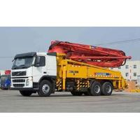 Quality Mounted Dry Cement Boom Pump Manufacturer 37m Mini 247kw 29000kg for sale