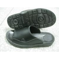 China Hard Fold ESD Black SPU Anti Static Safety Shoes No Raising Dust For Enterprise Units wholesale