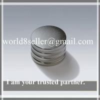 China Disc magnet Good supplier ndfeb magent disc on sale