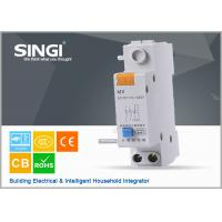 China Singi GNM MX AC220V DC24V auxiliary + shunt assemble mcb circuit breakers wholesale