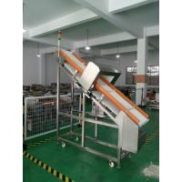 China Auto Conveyor Metal Detector 4015 for foods inspection  (inclined model with special belt) wholesale