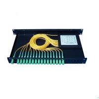 China Anti Humidity PLC Optical Splitter 3 In 1 Out -40~+85 Operating Temperature wholesale