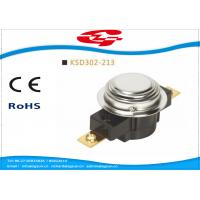 China UL TUV Bimetal Snap Disc Thermostat KSD302 For Thermal Protecter Temperature Limiter wholesale