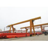 China 100 Ton Single Beam A Frame Gantry Crane With Strong Winch For Warehouse / Railway wholesale