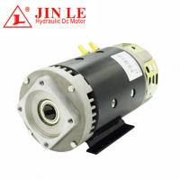 China Power Unit Direct Drive Motor ,  3.5KW 24V Hydraulic Motor With 100% Copper Wire wholesale