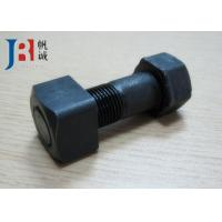 China Excavator Track Bolts and Nuts ISO Grade 12.9 wholesale