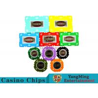China RFID Crown Clay Casino Chip Set With UV Anti - Fake Aluminum Case wholesale