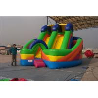 China Commercial Large Inflatable Slide For Toddlers Screen Print  / Hand Painting wholesale