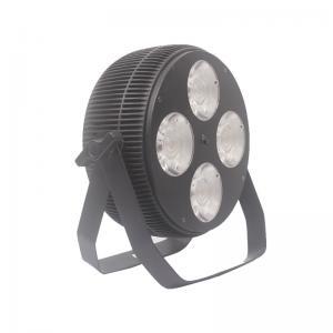 China Individually Controlled 4PCS 40W COB LED Par Light RGBW LED Mini Par Lights DMX Par Can Lights wholesale