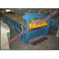 China IT4 Roof Panel Roll Forming Machine for Steel and Aluminium Roof Sheets wholesale