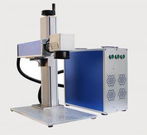 China 20W Portable Fiber Laser Marking Machine with 110*110mm Marking Range on sale