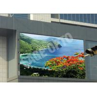 China Huge Advertisement P6 Outdoor Advertising LED Display Water Resistance 576mm x 576mm wholesale