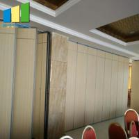 China Sound Proof MDF Board Movable Partition Walls Exhibition Hall / Ballroom on sale