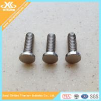 China Metric Gr2 And Gr5 M8 Titanium Cheese Head Screws wholesale