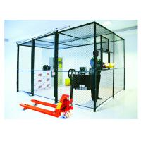 China 2 Sides Wire Mesh Security Partitions 10 Feet Width 10 Feet Depth 8 Feet High wholesale