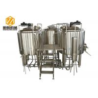China manual control Beer Brewing Equipment 1000L microbrewery with indoor condenser wholesale