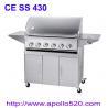 China 6Burner BBQ on Cart with side burner wholesale
