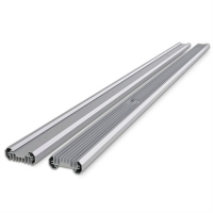 China 4ft Linear Bar Aluminum Heat Sinks For 100w Led Light 100% Inspection wholesale
