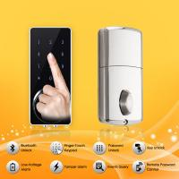 China Bluetooth Full Smart Home System Finger Touch Keypad Password Door Lock wholesale