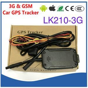 Quality 3G WCDMA & Quad-Band GSM Car Vehicle GPS Tracker LK210-3G Cut-off Oil & Power for sale