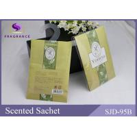 China Yellow  Color Promotional Gift Used Verbena Scented Paper Scented Sachet on sale