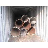 China Heat Treated High Pressure Carbon Steel Pipe Seamless Structure ASTM A106 Standard wholesale