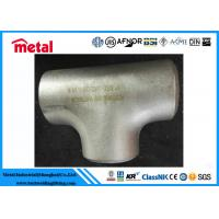China Industrial Alloy Steel Pipe Fittings BW Equal Tee ASTM B366 Alloy B UNS N10001 wholesale